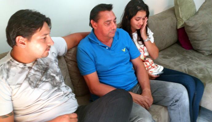 Família de Laís Souza, em Ribeirão Preto (Foto: João Fagiolo)