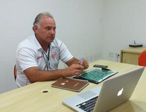 Toninho Cecílio Treinador Mogi Mirim Sapo  (Foto: Marcelo Gotti / Mogi Mirim EC)