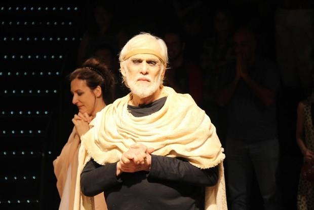 Francisco Cuoco em estreia de teatro no Rio (Foto: Thyago Andrade/Fotorio News)
