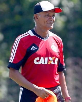 Jayme de Almeida treino do Flamengo (Foto: Alexandre Cassiano / Agência O Globo)