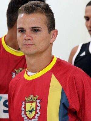 Zagalo, lateral-esquerdo do Galvez (Foto: João Paulo Maia)