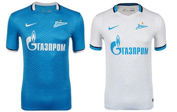 Camisas Champions Zenit