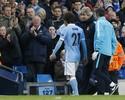 Pellegrini confirma o desfalque do meia David Silva contra o Real Madrid