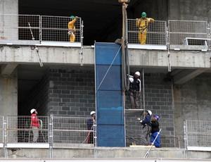 Acabamento da Arena do Grêmio (Foto: Juliano Kracker/Divulgação)