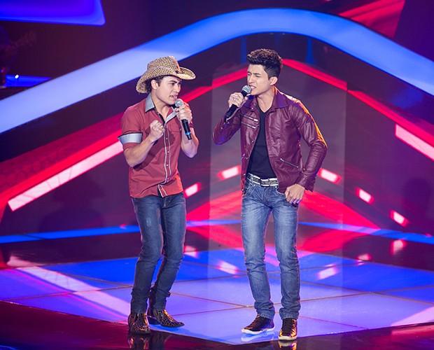 Ricardo e Ronael - Audição 1 (Foto: Isabella Pinheiro/TV Globo)