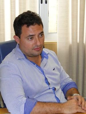 Alexandre Mattos, diretor de futebol do Cruzeiro (Foto: Tayrane Corrêa)
