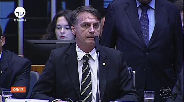 Jair Bolsonaro se reúne com presidentes dos três poderes, em Brasília