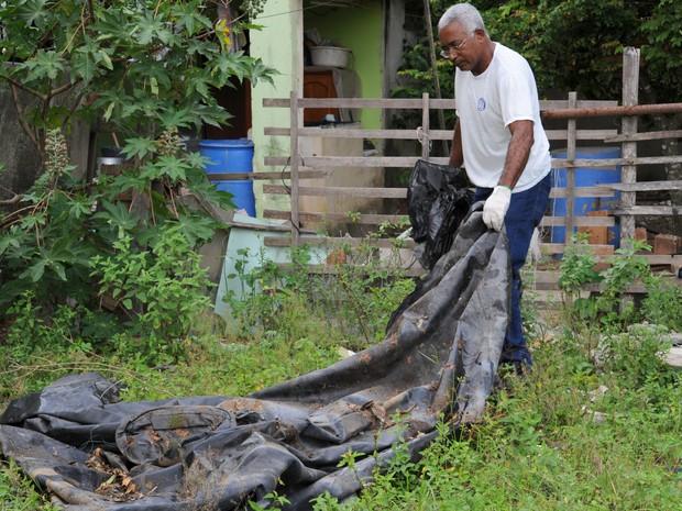 Mutirão da dengue continua atuando em Quissamã. (Foto: Divulgação/ Prefeitura de Quissamã)