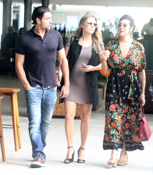 Leonardo Carvalho, Keruse Bongioli e Christiane Torloni (Foto: AGnews)