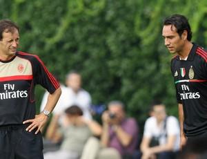 Alessandro Nesta em treino do Milan (Foto: Getty Images)