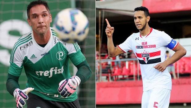 São Paulo é o vice-líder do campeonato, enquanto o Palmeiras é o 14º colocado (Foto: Divulgação)