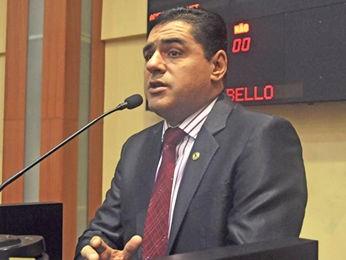 Deputado Walter Machado Rabello Júnior (PSD). (Foto: Widson Maradona/ALMT)