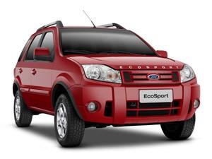 EcoSport ganhou primeira grande reestilização em 2010 (Foto: Divulgação)