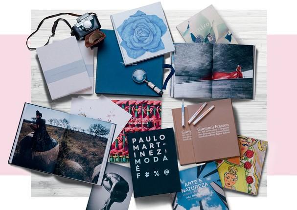 Alguns dos destaques da editora, que se tornou referência em livros de moda no Brasil (Foto: Rafael Define)