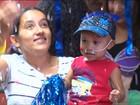 Crianças do Hospital de Clínicas em Curitiba recebem festa de carnaval