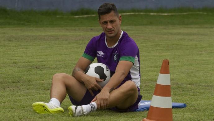 Eduardo Ramos, treino no Remo (Foto: Oswaldo Forte/O Liberal)