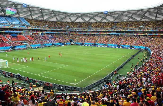 Arena Amazônia Honduras x Suíça (Foto: Silvio Lima)