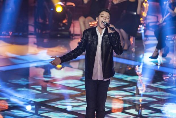 Wagner Barreto é o vencedor da primeira edição do The Voice Kids (Foto: Globo/Pedro Curi)