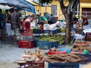 Feira oferta produtos sem agrotóxicos (Foto: Divulgação/CPT)