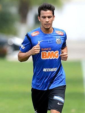 Henrique no treino do Santos (Foto: Ivan Storti / Site Oficial do Santos)