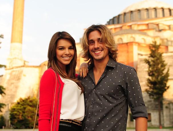 Drika e Pepeu (Foto: João Miguel Jr./ TV Globo)