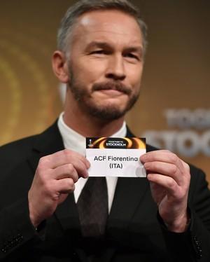 Patrik Andersson sorteio Liga Europa (Foto: AFP)