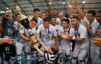 FOTOS: ABC vence Alto do Rodrigues e é campeão potiguar de futsal