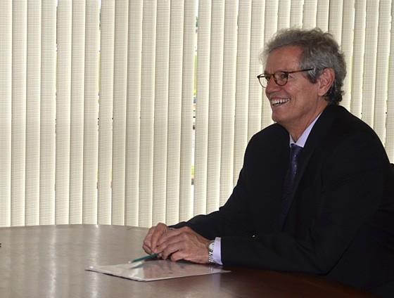 Paulo Nogueira Batista Júnior, vice-presidente do banco dos Brics, em foto de 2013. Na época, ele era diretor-executivo do FMI (Foto: José Cruz / Agência Brasil)