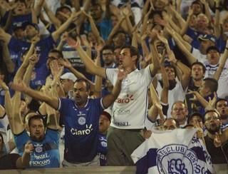 Torcida do São Bento em jogo contra o Corinthians (Foto: Jesus Vicente / EC São Bento)
