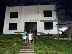 Crime ocorreu em igreja na rua Muriatinga, Monte das Oliveiras, Zona Norte (Foto: Ive Rylo / G1 AM)