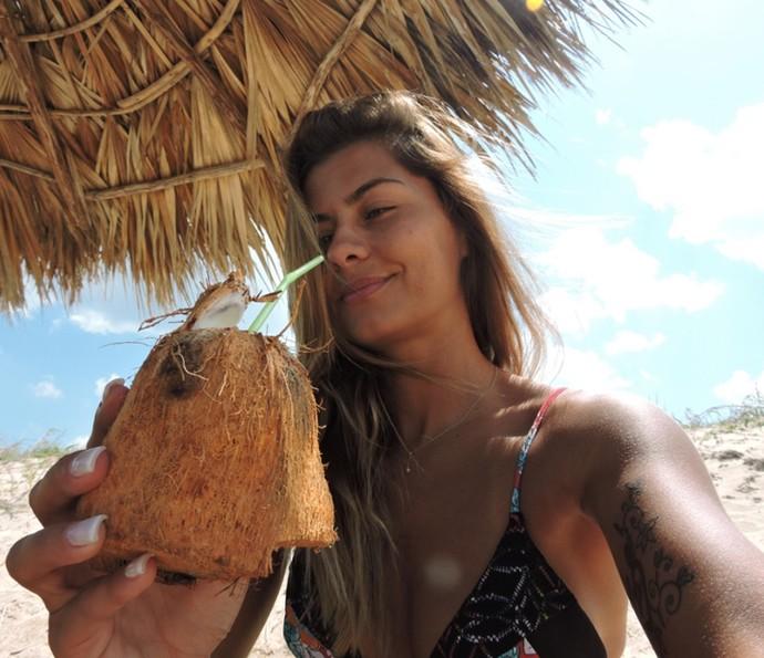 Bruna Salvatori visita Cuba e faz relato para o Gshow (Foto: Arquivo pessoal)