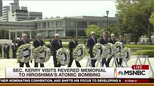 G7 defende no Japão um mundo sem armas nucleares