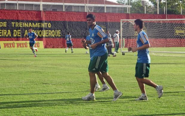 Treino Palmeiras (Foto: Diego Ribeiro / Globoesporte.com)