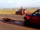 Acidente na rodovia PR-218 deixa uma pessoa morta e duas feridas