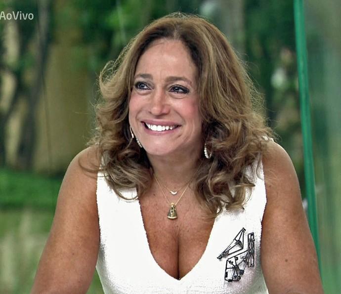Susana Vieira relembra apresentação no 'Domingão do Faustão' (Foto: TV Globo)