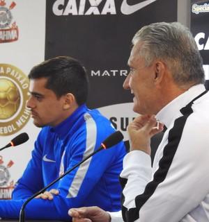 Fagner Tite Corinthians (Foto: Marcelo Braga)