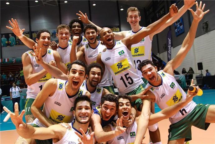 Seleção masculina mundial sub-21  (Foto: Divulgação / FIVB)