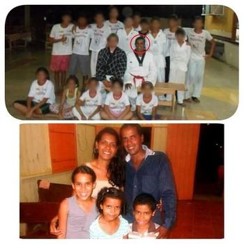 Rony Sandro da Silva, sua esposa e seus três filhos faleceram após acidente no domingo (18), entre um caminhão e dois carros, na BR-364 sentido Porto Velho (RO)  (Foto: Feteac/arquivo pessoal)