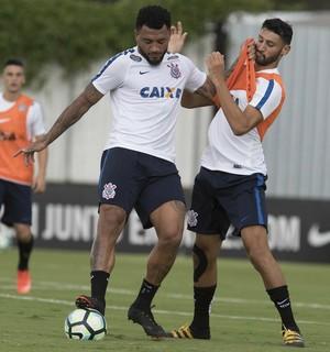 Kazim e Thiago, Corinthians (Foto: Daniel Augusto Jr/Ag. Corinthians)