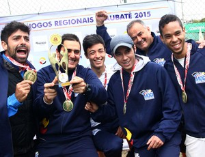 Tênis Mogi das Cruzes jogos Regionais Taubaté (Foto: Vitor Geron)