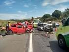 Uma pessoa morre e cinco ficam feridas em acidente na BR-101, ES