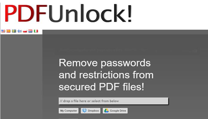 PDFUnlock tem conexão segura (Foto: Reprodução/Paulo Alves)