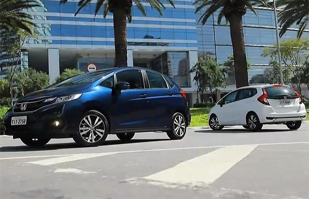 Honda Fit 2018 (Foto: Reprodução)