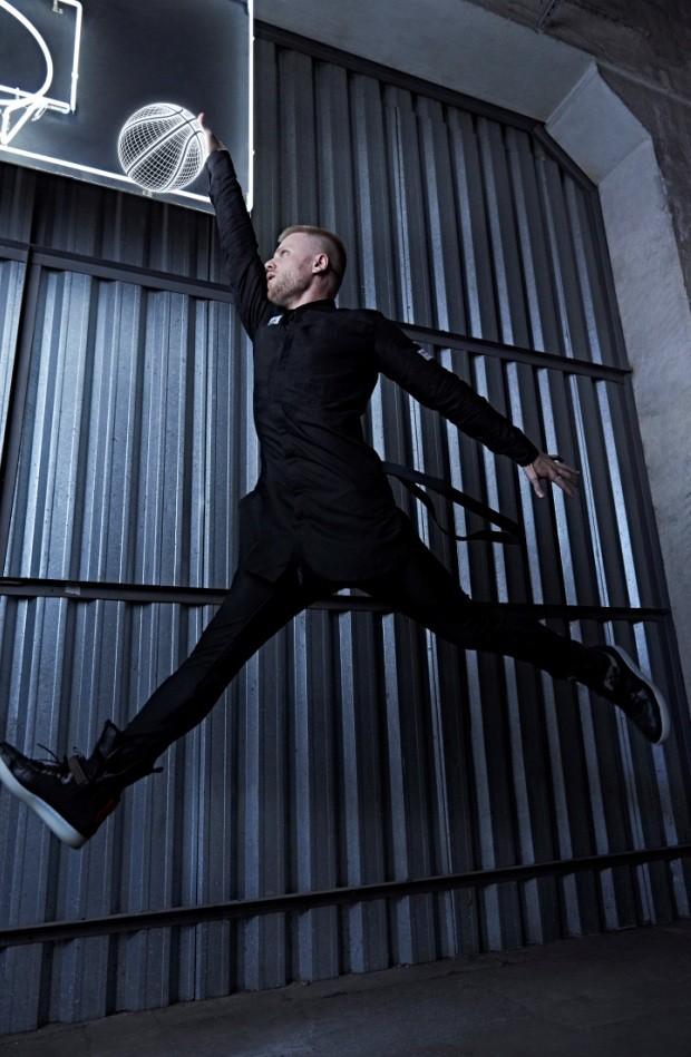 Davi Sabbag na campanha da Cartel 011 e Nike Lab (Foto: Divulgação)