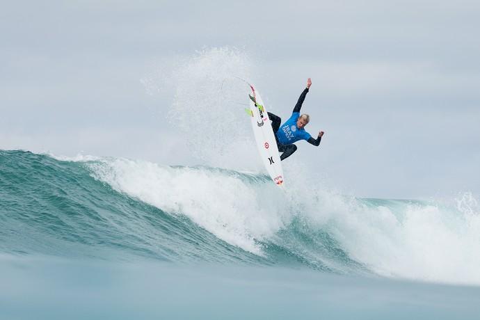Kolohe Andino em ação na etapa de Jeffreys Bay pelo Mundial de Surfe 2015 (Foto: Divulgação / WSL)
