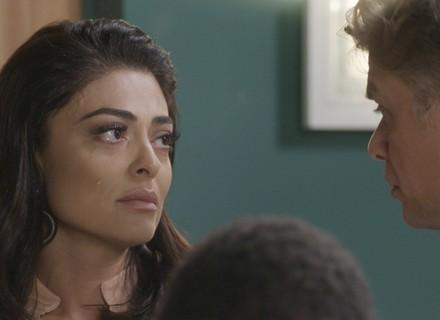 Teaser: Ao saber que Dorinha está em coma, Arthur surpreende Carol: 'Eu vou ficar do teu lado'