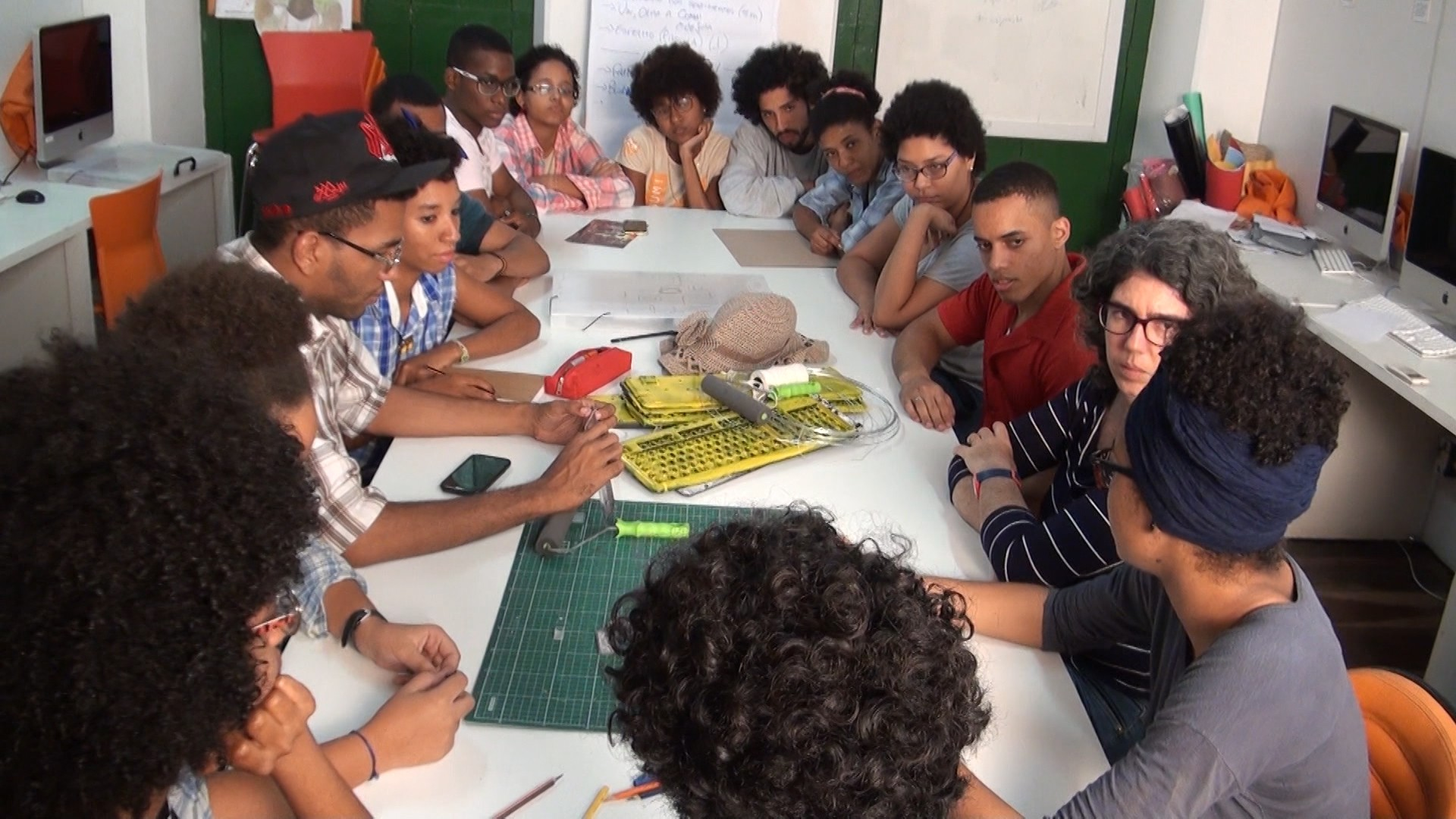 Projeto Kabum oferece oficinas de comunicação para jovens soteropolitanos (Foto: Divulgação)