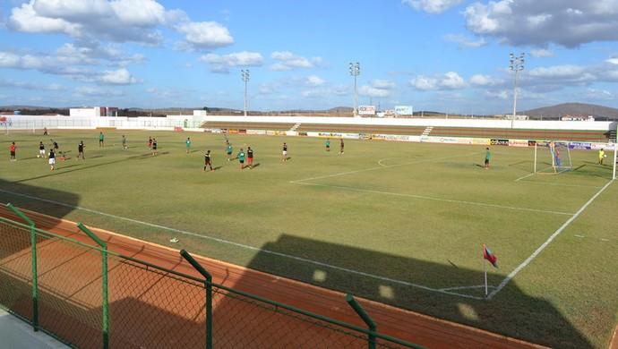 RN - Estádio Iberezão, em Santa Cruz (Foto: André Fotos)