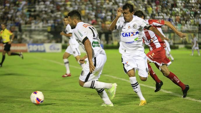ASA X CRB, no Coaracy (Foto: Ailton Cruz/Gazeta de Alagoas)