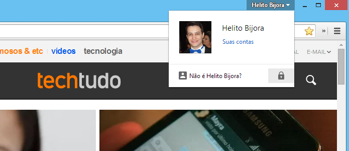 Bloqueando acesso ao Chrome (Foto: Reprodução/Helito Bijora)